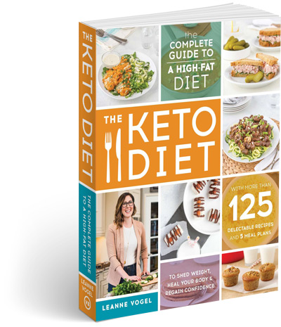 Keto Diet Book by Leanne Vogel