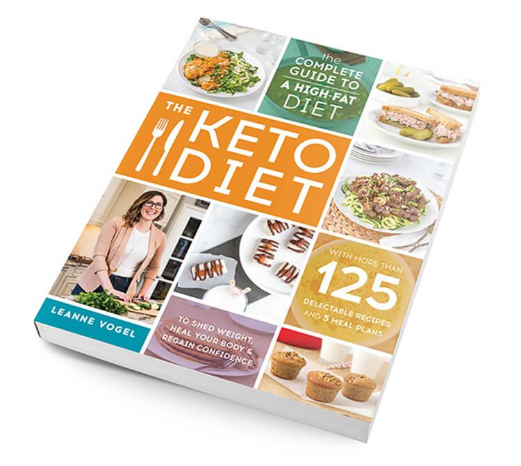 the keto diet book leanne vogel